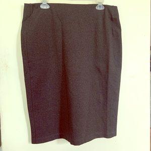 💜 2/$35 Joe Fresh Gray Pencil Skirt